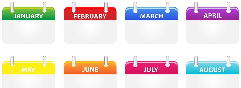 Janvier: je crée un calendrier éditorial
