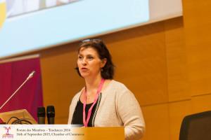 Intervention de Christiane Turck, CEO de Tellitweb à la Chambre de Commerce de Luxembourg sur les tendances web en 2016
